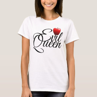 Evil Queen Small Apple T-Shirt