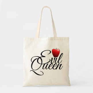 Evil Queen Small Apple Tote Bag