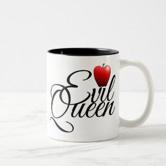 Evil Queen Small Apple Two-Tone Coffee Mug