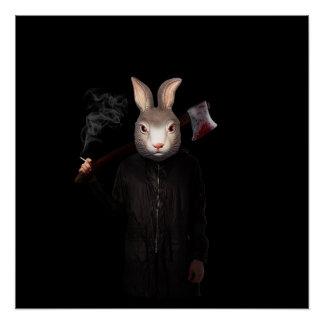 Evil Rabbit Poster