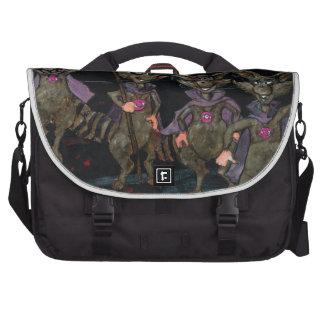 Evil Raccoons Laptop Messenger Bag