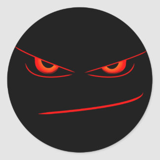 evil red eyes seal