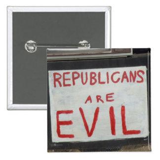 Evil Republicans Buttons
