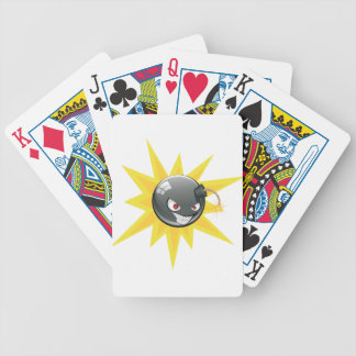 Evil Round Bomb 2 Bicycle Playing Cards