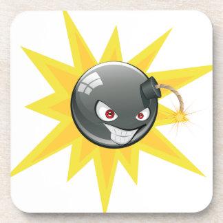 Evil Round Bomb 2 Coaster