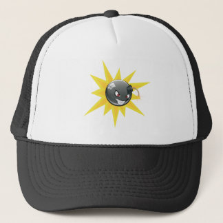 Evil Round Bomb Trucker Hat