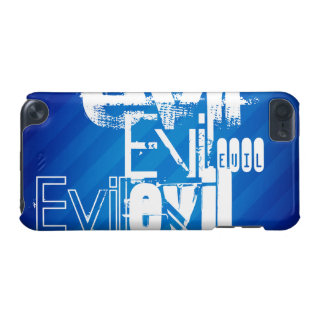 Evil; Royal Blue Stripes iPod Touch (5th Generation) Cover