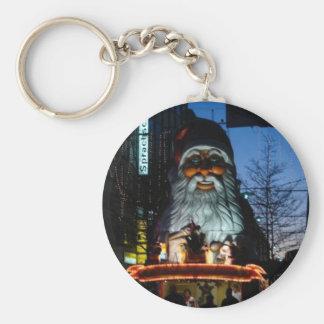 Evil Santa - Hamburg Germany Basic Round Button Key Ring