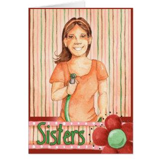 Evil Sister - Greeting Card