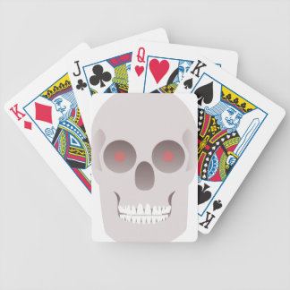 Evil Skull Bicycle Playing Cards