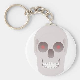 Evil Skull Key Ring