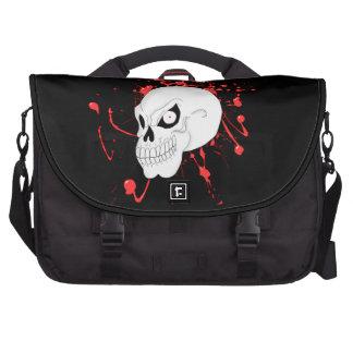 Evil Skull Laptop Bag