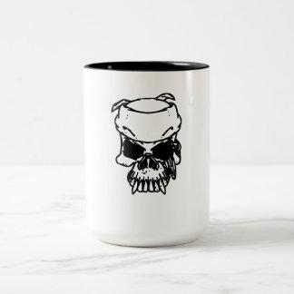 Evil Skull Coffee Mugs