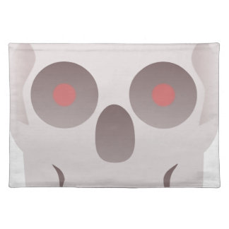 Evil Skull Placemat