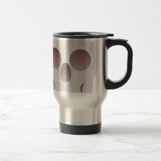 Evil Skull Travel Mug