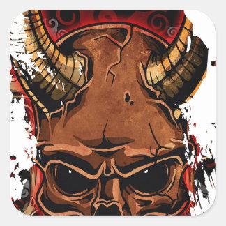 Evil Skulls Sticker