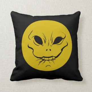 Evil Smiely Anticipation Face Cushion