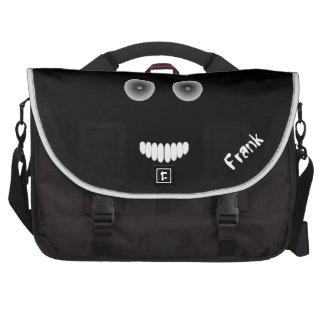 Evil Smile Laptop Bag Template