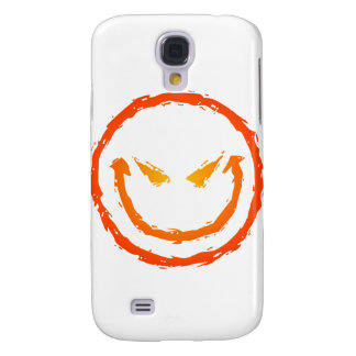 Evil Smiley Face Samsung Galaxy S4 Cover