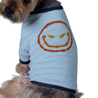 Evil Smiley Face Pet Clothes