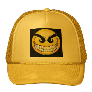 Evil SMILEY FACE Hat