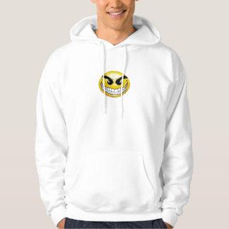 evil smiley face hoodie