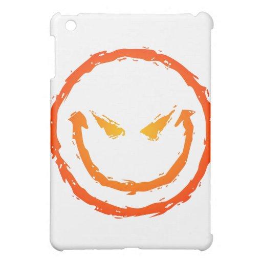Evil Smiley Face iPad Mini Cases