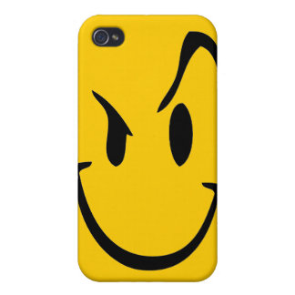 Evil Smiley Face iPhone 4 Case