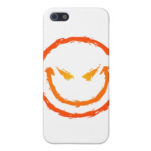 Evil Smiley Face iPhone 5 Covers