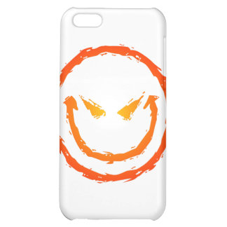Evil Smiley Face Cover For iPhone 5C