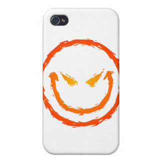 Evil Smiley Face Cover For iPhone 4