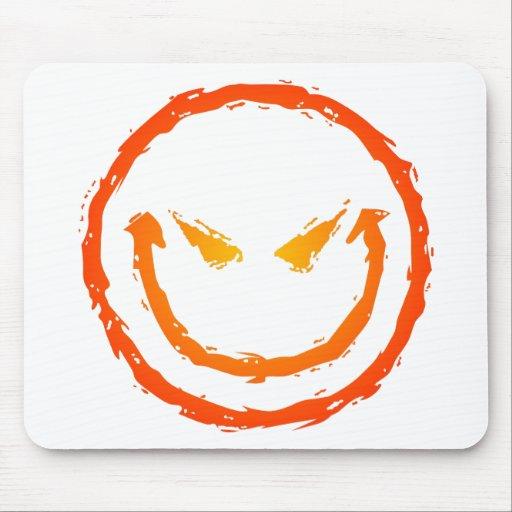 Evil Smiley Face Mousepad