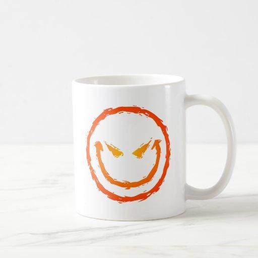 Evil Smiley Face Coffee Mug