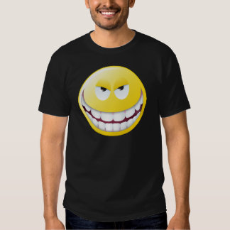 Evil Smiley Face Shirts