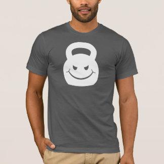 evil smirking kettlebell T-Shirt