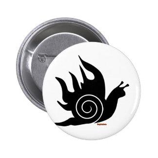 Evil Snail 6 Cm Round Badge