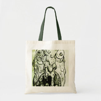 Evil Snot Monster Canvas Bags