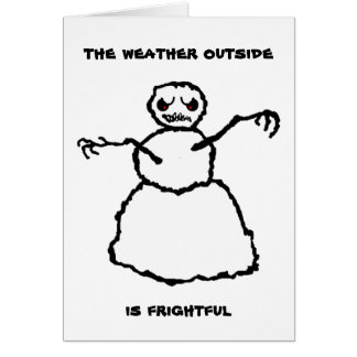 Evil Snowman - Hope Card