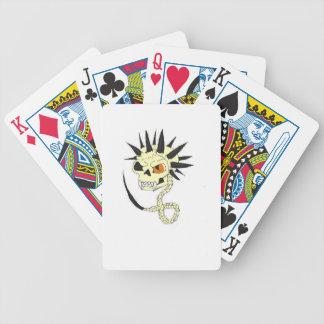 Evil Spike Halloween Skull Cards