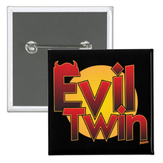 Evil Twin 15 Cm Square Badge