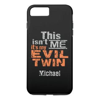 Evil Twin custom name phone cases