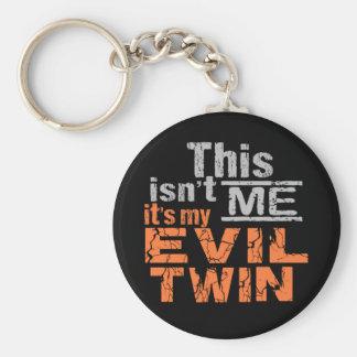 Evil Twin key chain