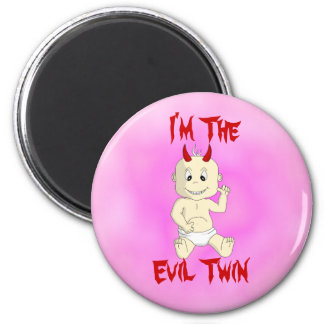 Evil Twin Magnet (pink)