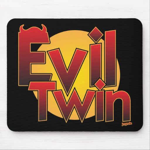 Evil Twin Mouse Mat