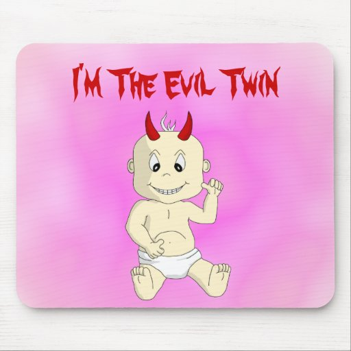 Evil Twin Mousepad