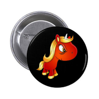 Evil Unicorn Button