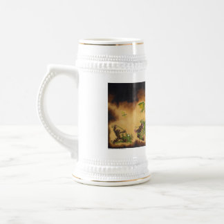 Evil-ution Coffee cup/stein Beer Stein