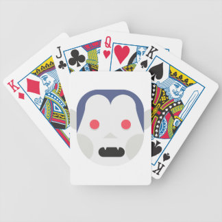 Evil Vampire Bicycle Playing Cards