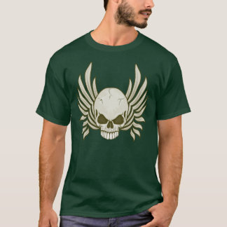 Evil Winged Skull T-Shirt