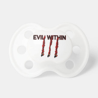 Evil Within Claw Marks Pacifiers